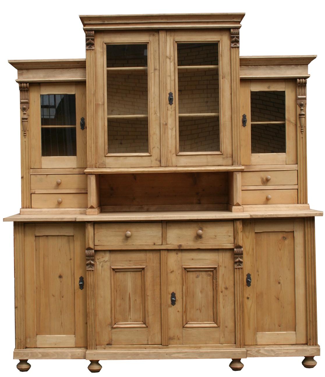 gr nderzeit weichholz buffet antike einzelst cke bei wohnpalast m bel g nstig kaufen. Black Bedroom Furniture Sets. Home Design Ideas