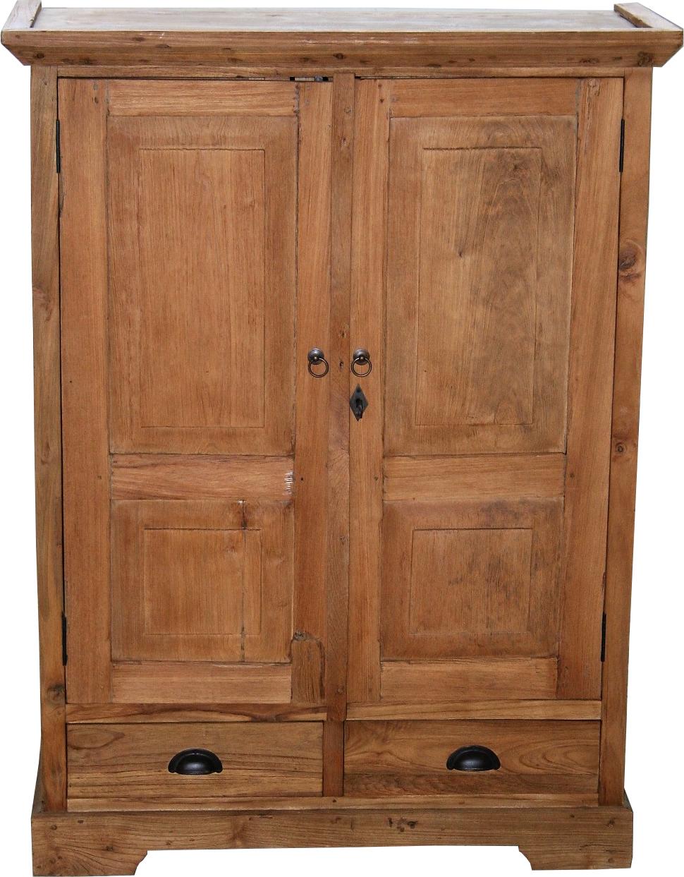 teakholz schrank vintage. Black Bedroom Furniture Sets. Home Design Ideas