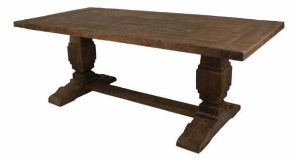 vintage teak tisch esstisch massiv teakholz m bel sonora dengkleh. Black Bedroom Furniture Sets. Home Design Ideas