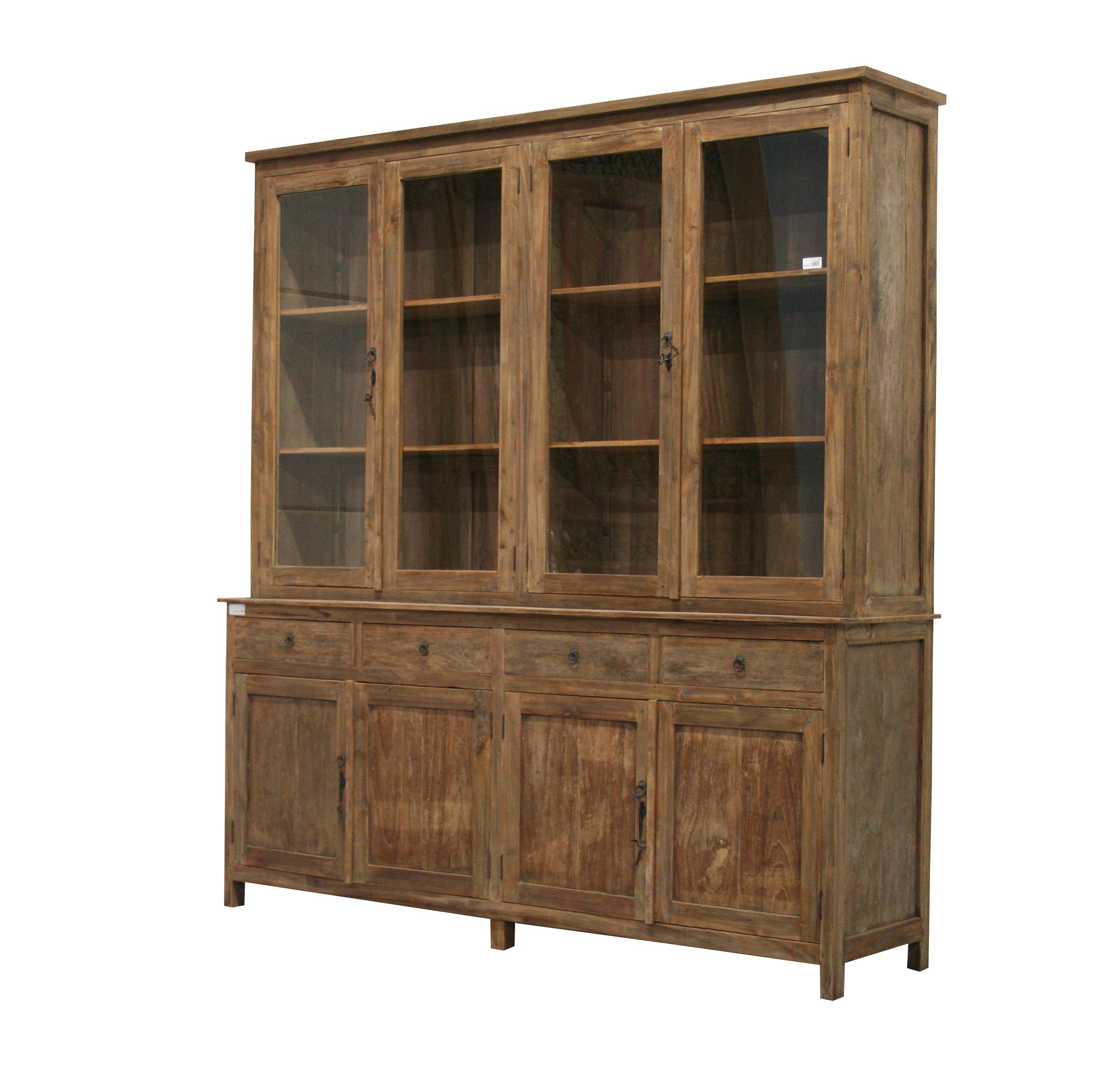 teakschrank vitrine massivholz ladenschrank kolonialstil teak m bel landhaus m bel. Black Bedroom Furniture Sets. Home Design Ideas