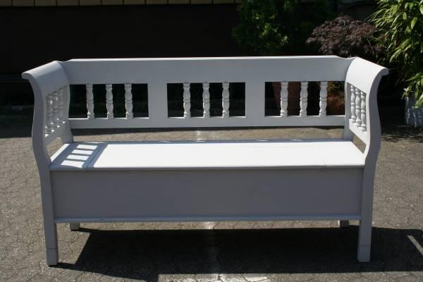 truhenbank shabby chic 150cm. Black Bedroom Furniture Sets. Home Design Ideas