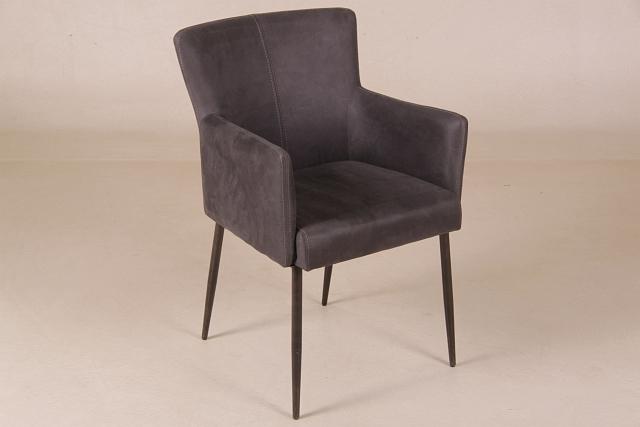 stuhl armlehne grau anthrazit polster. Black Bedroom Furniture Sets. Home Design Ideas