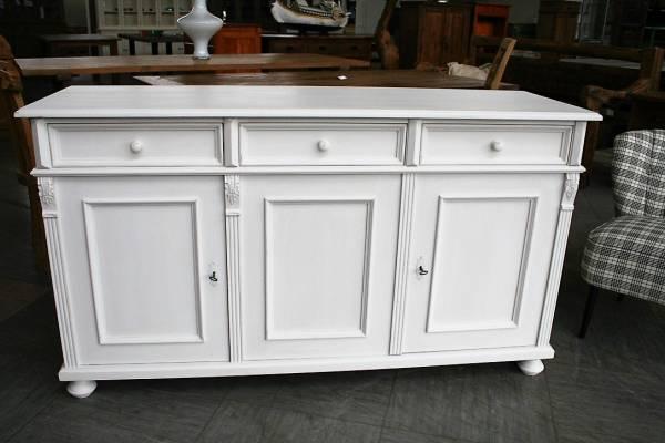 Landhaus Sideboard weiß