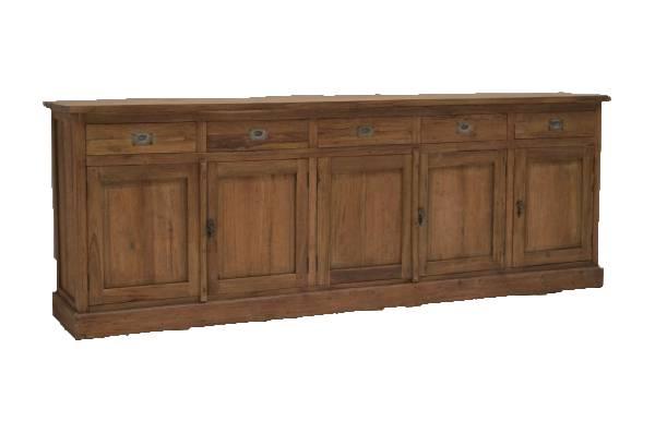 Vintage Teak Sideboard 250 cm