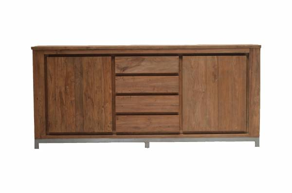 teak sideboard berlin. Black Bedroom Furniture Sets. Home Design Ideas