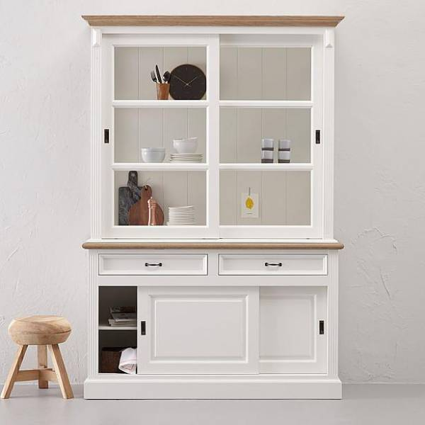 landhaus massivholz vitrine. Black Bedroom Furniture Sets. Home Design Ideas