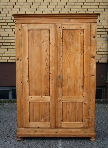Weichholz Schrank Biedermeier Schrank Massivholz Möbel Landhaus ...