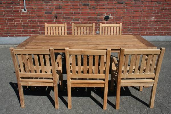 Garten gartenset teakholz stuhl tisch outdoor for Gartenmobel teak set