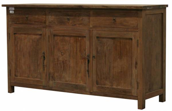 Vintage Teakholz Sideboard - Teak recycelt Altholz