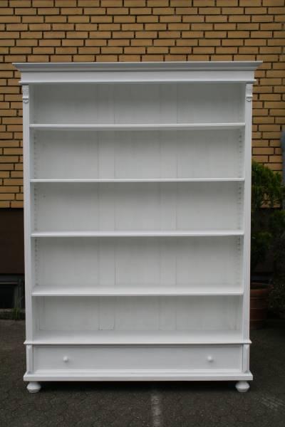 Gründerzeit Bücherregal Vintage weiß