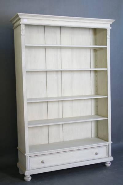 Bücherregal weiß landhaus  Landhaus shabby chic weiß