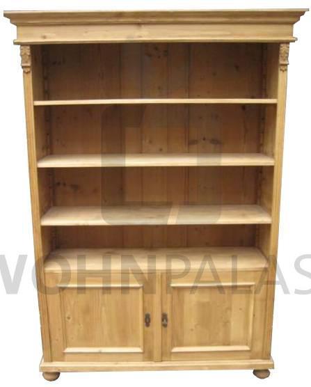 Weichholz Bücherregal 2 Türen