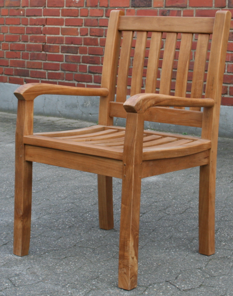 Teak Stuhl Beaufort   Gartenstuhl 4er Set