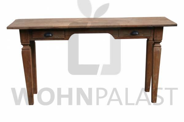 Wandtisch aus Teakholz - antik