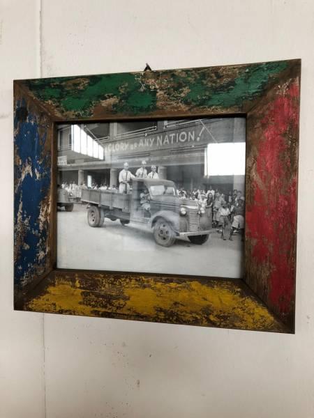 Bilderrahmen Jamaica aus recyceltem Teakholz