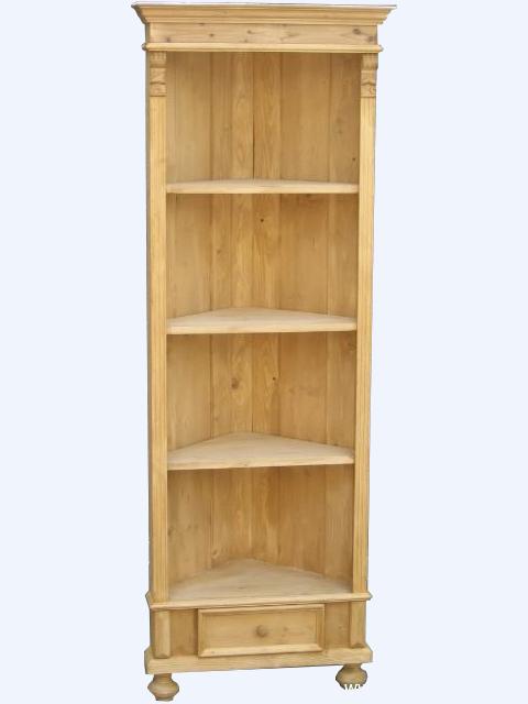 massivholz eckschrank im landhausstil weichholzm bel bei. Black Bedroom Furniture Sets. Home Design Ideas