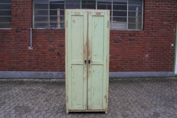 Vintage Schrank aus Weichholz