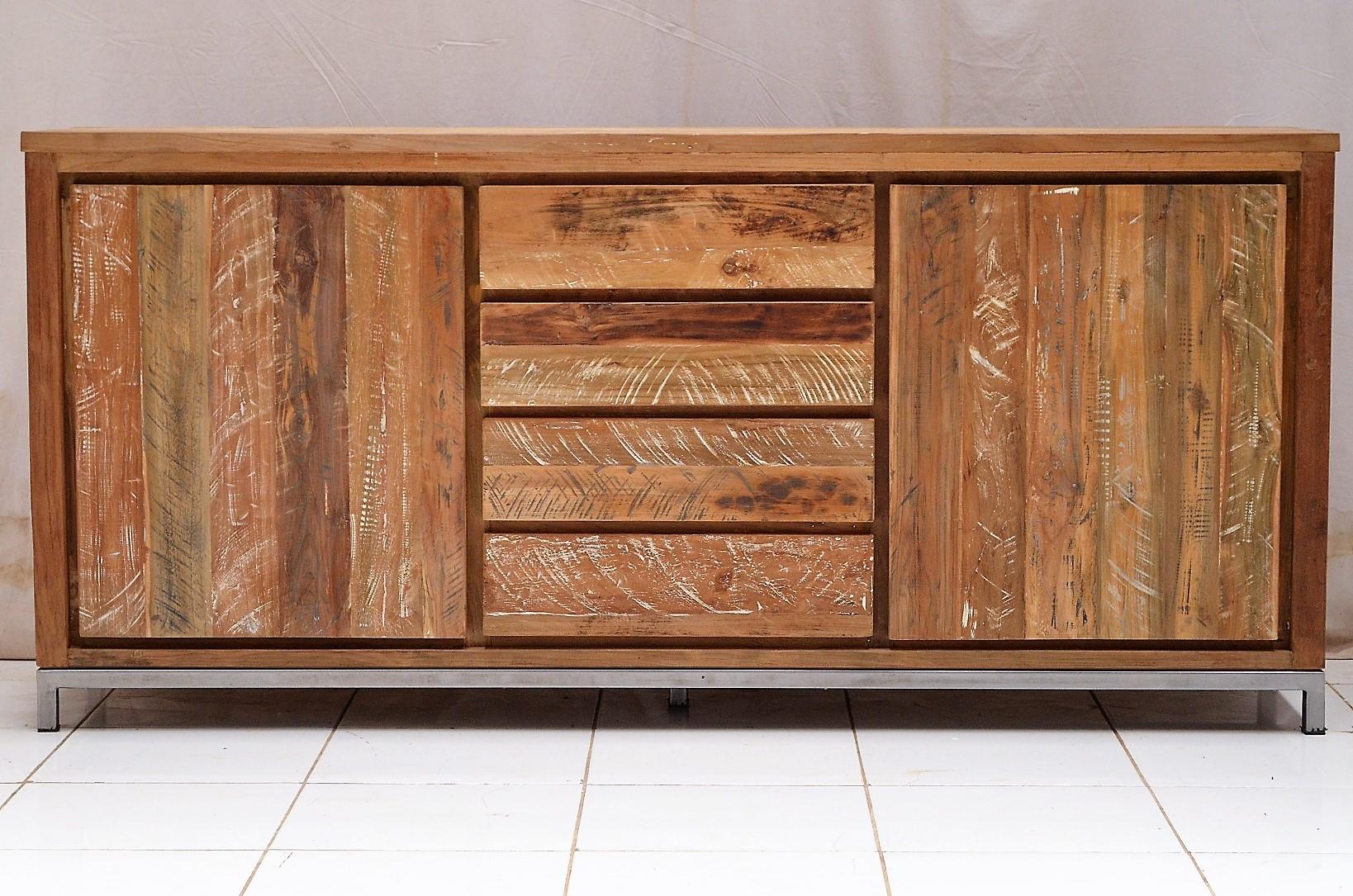 anrichte teak teakholzm bel tv m bel kommode kommoden. Black Bedroom Furniture Sets. Home Design Ideas