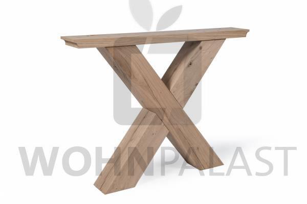 Tischbeine Eiche Wood Line X-Profill