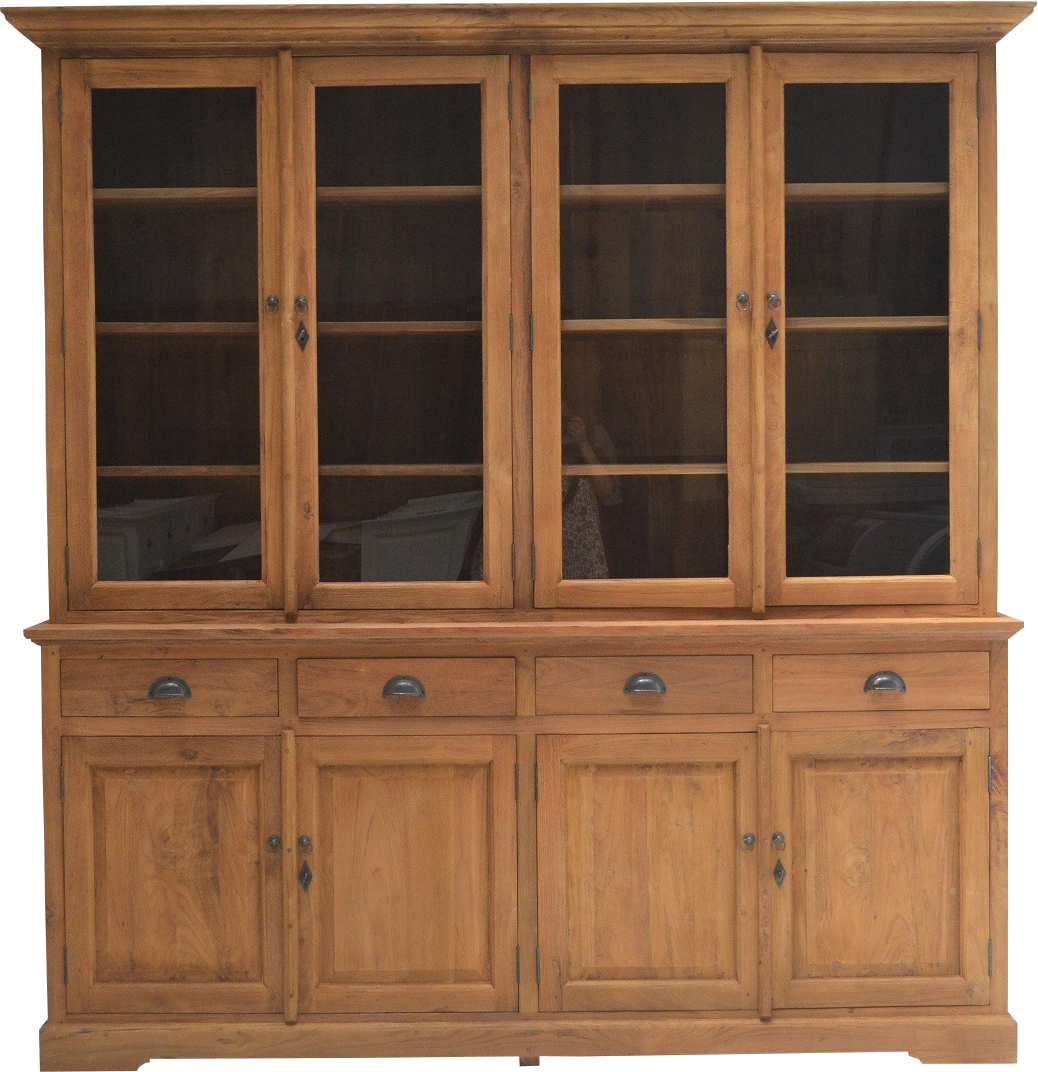 teakholz teak teakm bel buffet schrank massivholz teakvitrine landhausstil kolonial stil schrank. Black Bedroom Furniture Sets. Home Design Ideas