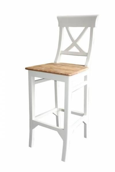 Barhocker jasmin teak massiv stuhl sitz for Teak barhocker