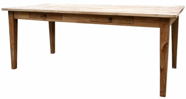 Teak Tisch Landhaus Classic 200 cm