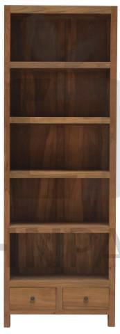Bücherregal Preußler aus massivem Teakholz 70cm