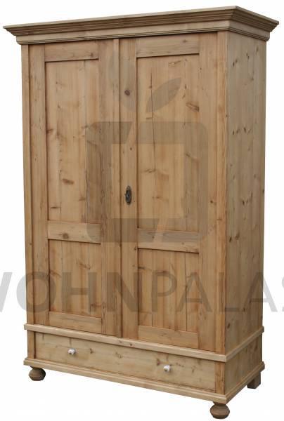 Kleiderschrank Ravenna aus massivem Weichholz