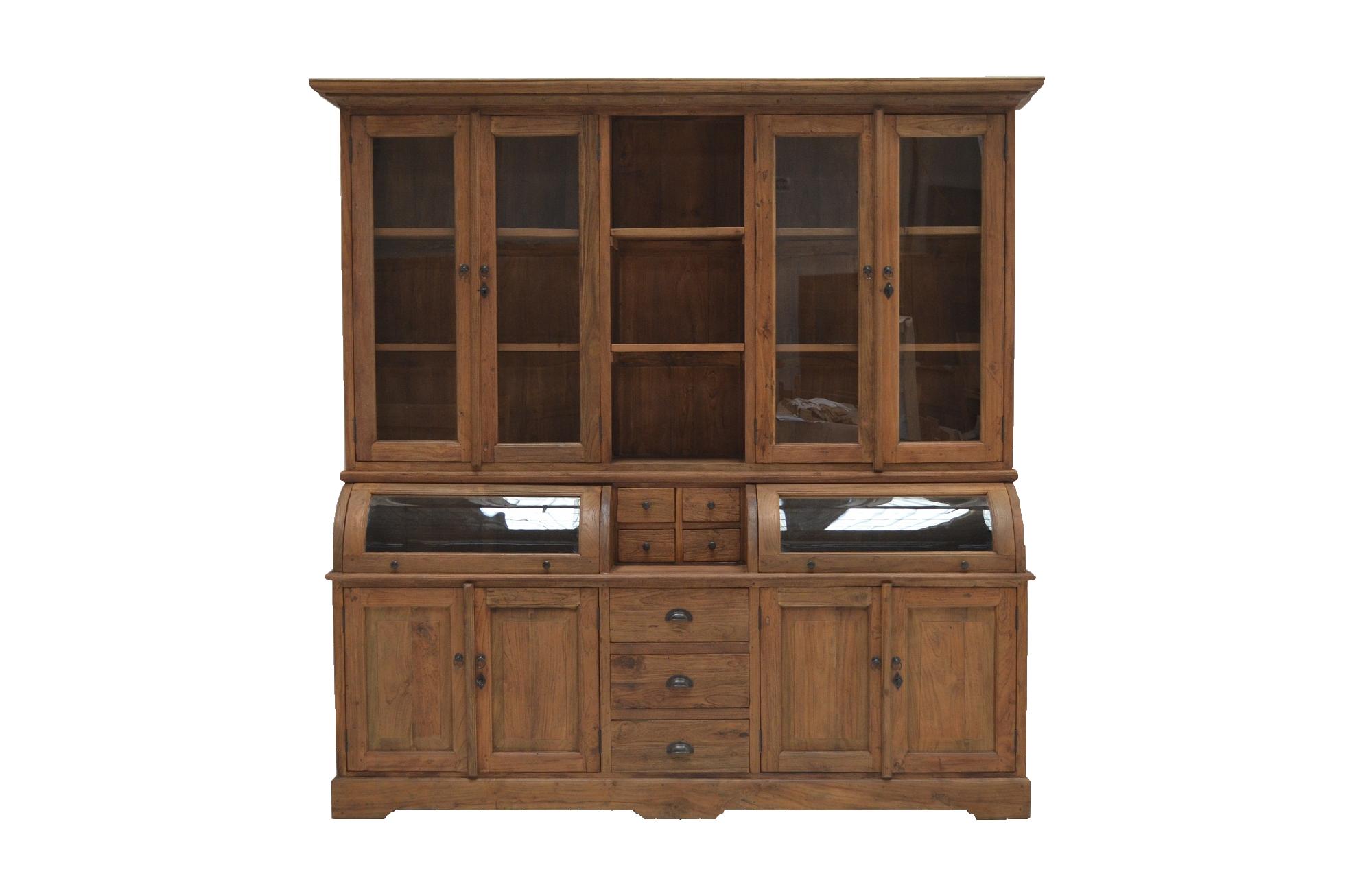 buffet schrank landhaus 250 cm massivholz teak teakholz m bel teak recycelt bei. Black Bedroom Furniture Sets. Home Design Ideas