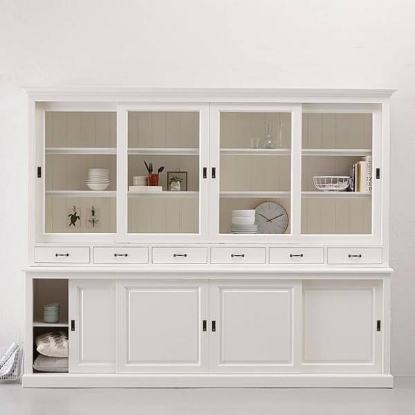 kommode ladenschrank wei rustikal anrichte vitrine. Black Bedroom Furniture Sets. Home Design Ideas
