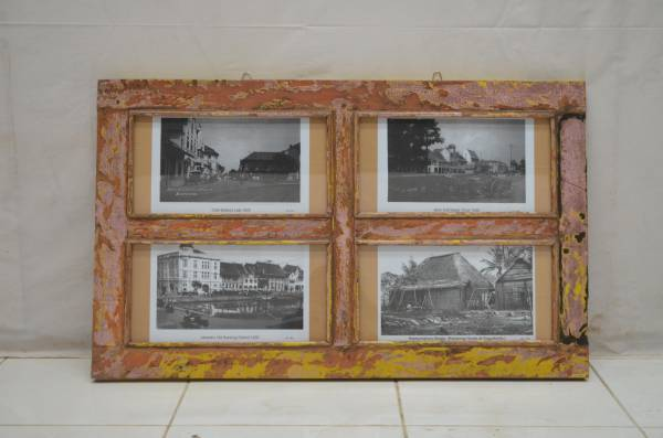 fotorahmen kunst wand deko dekoration vintage old bilderrahmen. Black Bedroom Furniture Sets. Home Design Ideas