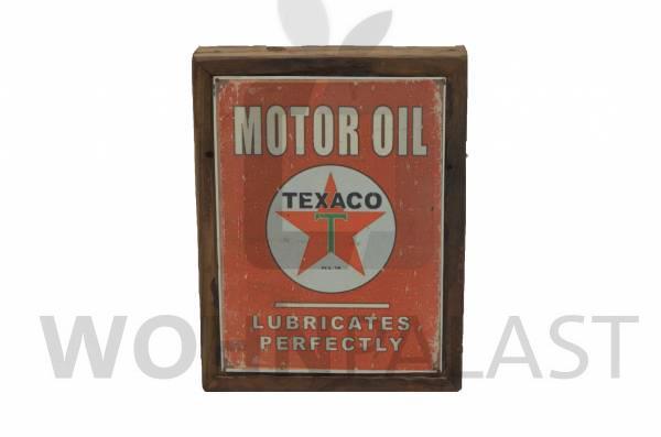 """Schild """"Motor Oil"""""""