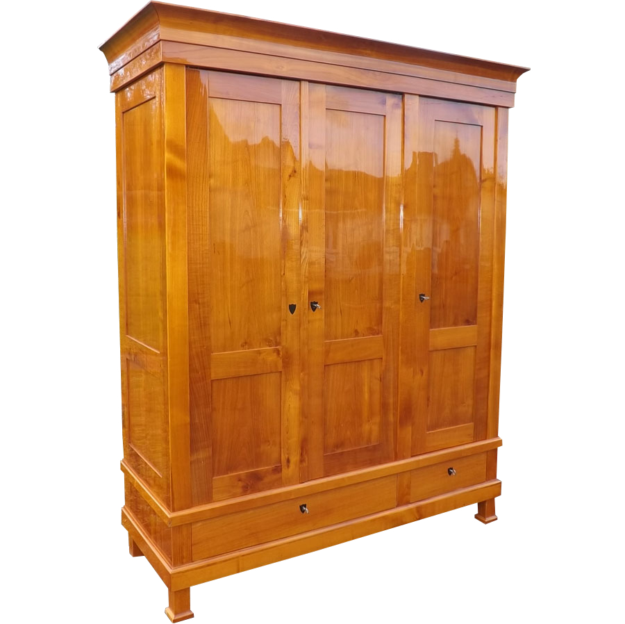 biedermeier schrank kirschholz schrank kirsch massiv kleiderschrank. Black Bedroom Furniture Sets. Home Design Ideas