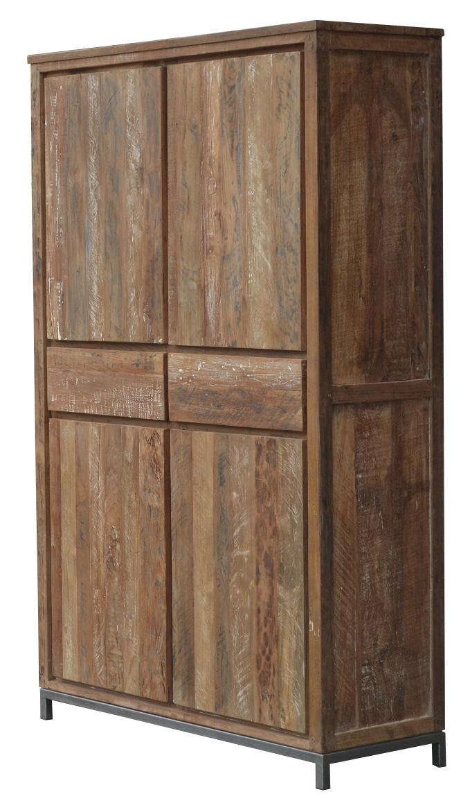 vintage teak schrank k ln mit schubladen teakholzm bel bei. Black Bedroom Furniture Sets. Home Design Ideas