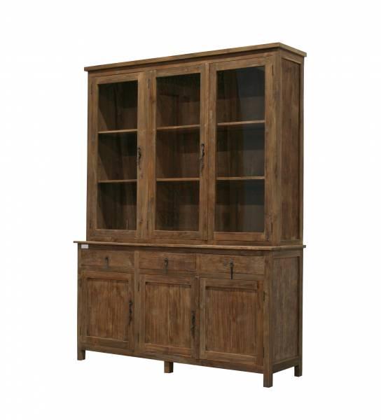 Möbel kolonialstil münchen  teakschrank vitrine massivholz ladenschrank kolonialstil teak möbel ...