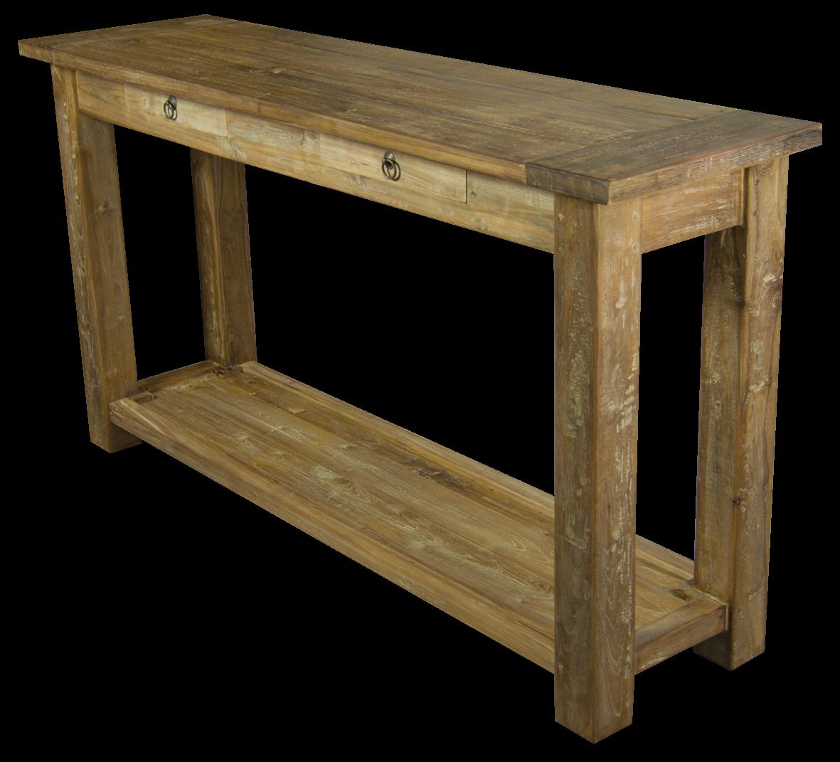 Wandtisch Konsole Konsolentisch Teak Teakmöbel Tisch Teakholz Möbel