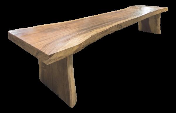 """Tisch """"Baumstamm"""" Teak massiv 450 cm"""