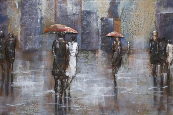 3 D Bild Regen