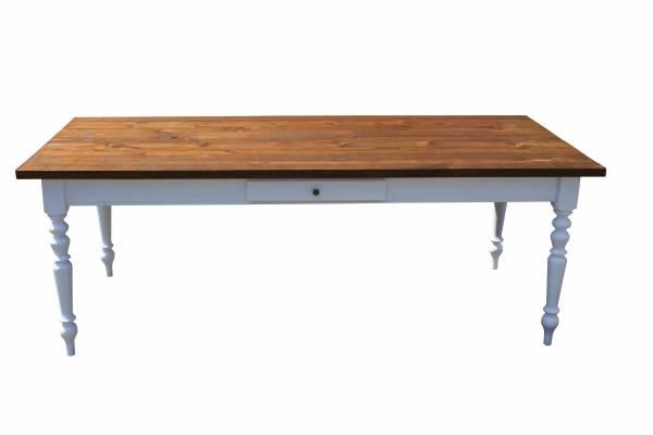 Tisch Gründerzeit Eiche dunkel