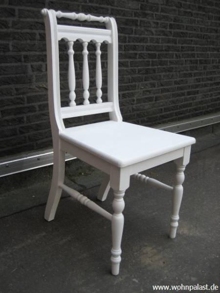 Stühle weiß landhaus  Landhausmöbel stuhl Stühle