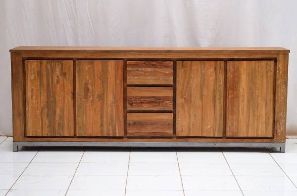 vintage teak sideboard k ln. Black Bedroom Furniture Sets. Home Design Ideas