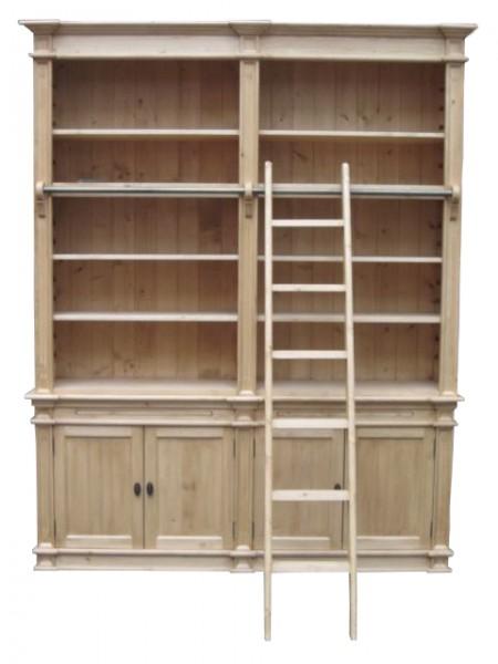 b cherwand im landhausstil antikbraun m bel wohnpalast m bel. Black Bedroom Furniture Sets. Home Design Ideas