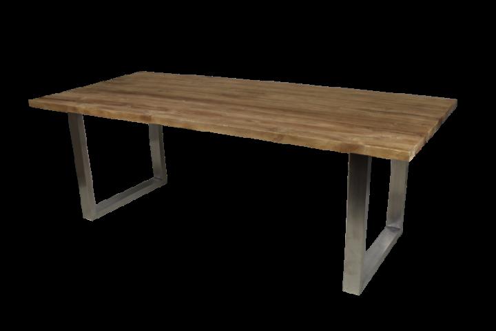 teakholz platte rustikal m bel wohnpalast m bel. Black Bedroom Furniture Sets. Home Design Ideas