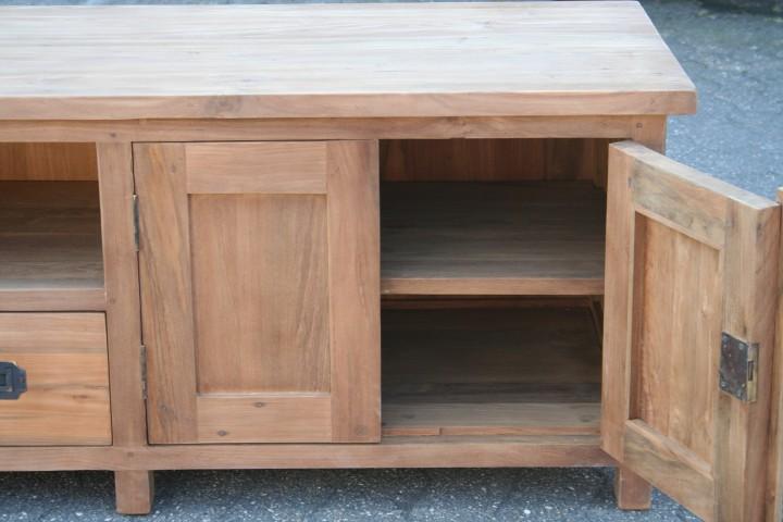 gro es teak tv board m bel wohnpalast m bel. Black Bedroom Furniture Sets. Home Design Ideas
