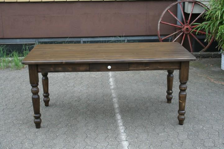 ... / Möbel / Neu eingetroffen / Landhaus Tisch Massivholz antik dunkel