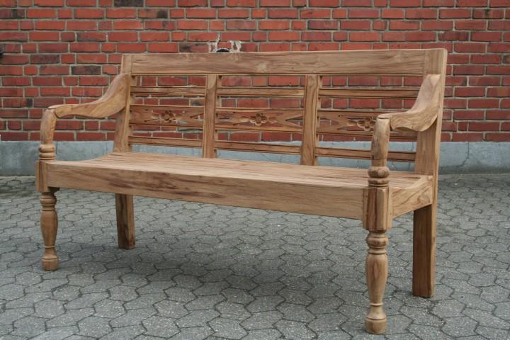 teak bank station garten 3 sitz teakm bel wohnpalast m bel. Black Bedroom Furniture Sets. Home Design Ideas