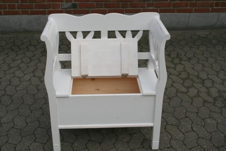 truhenbank tulpe 80 cm wei shabby chic m bel. Black Bedroom Furniture Sets. Home Design Ideas