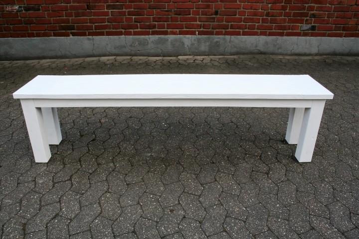 teak gartenbank kasar recycelt wei ohne lehne m bel. Black Bedroom Furniture Sets. Home Design Ideas