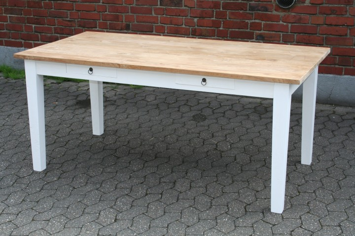 vintage teak tisch mit schubladen m bel wohnpalast m bel. Black Bedroom Furniture Sets. Home Design Ideas