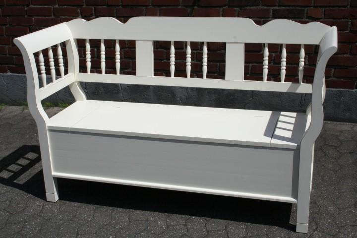 truhenbank spindel creme shabby chic m bel wohnpalast. Black Bedroom Furniture Sets. Home Design Ideas